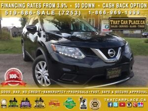 2014 Nissan Rogue AWD-Backup Camera-Bluetooth-AUX/USB