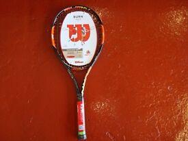 Wilson Burn Lite tennis racket brand new with labels.
