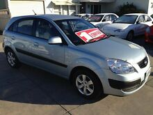 2008 Kia Rio JB MY07 LX Silver 4 Speed Automatic Hatchback Park Holme Marion Area Preview