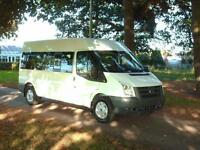 Ford transit 13 seat minibus low miles full service history