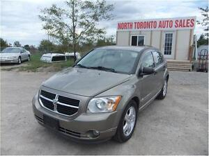 2008 DODGE CALIBER SXT - LOW KM - 4 CYLINDER - AUTOMATIC
