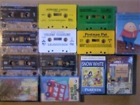 ABC CHILDRENS CASSETTE TAPES STORIES, NURSERY RHYMES, SINGALONG, DANCE, ALPHABET & COUNTING TUITION