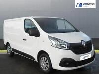 2015 Renault Trafic SL27 BUSINESS PLUS DCI S/R P/V Diesel white Manual