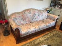 10 Seat Sofa Suite and Matching Dining Table and 8 Chairs in Clayhall, Redbridge area