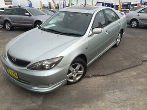 2004 Toyota Camry MCV36R Upgrade Sportivo Mint Green 4 Speed Automatic Sedan Cardiff Lake Macquarie Area Preview