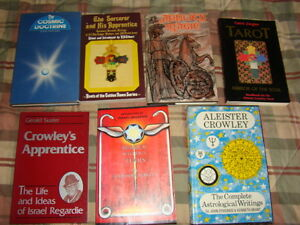 Numerous spiritual occult books, Crowley and more Kingston Kingston Area image 6