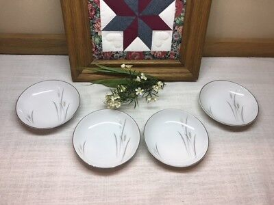 Platinum Wheat Fine China Japan, Bread Plates & Berry/Fruit Bowls. Good Used Con ()
