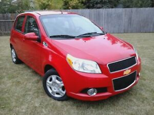 2011 Chevrolet Aveo 5 LT, only 68,719 kms
