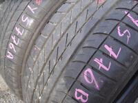 255/55/18 Goodyear Eagle F1 SUV 4x4 x2 A Pair, 6.0mm (168 High Road, Romford, RM6 6LU)