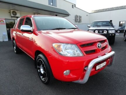 2008 Toyota Hilux GGN15R MY09 SR5 Red 5 Speed Automatic Utility