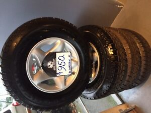 """245/75x16"""" all-terrain 6 bolt truck concours tires North Shore Greater Vancouver Area image 6"""