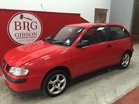 Seat Ibiza IBIZA 1.9 TDI COOL 1896CC DIESEL MANUAL (red) 2000