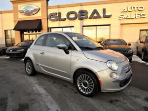 2012 Fiat 500 Lounge PANOR. ROOF HEATED SEATS