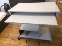 Computer Table on wheels 81x50x76 cm high