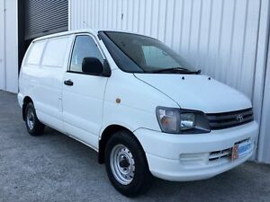 1998 Toyota Townace KR42R White 5 Speed Manual Van Parkwood Gold Coast City Preview