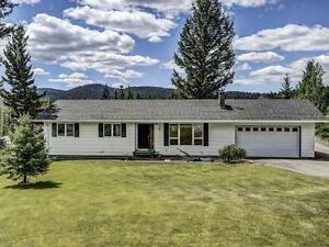 Beautiful Family Home on just over an Acre in Logan Lake, BC