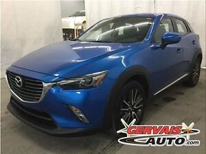 Mazda CX-3 GT AWD Navigation Cuir Toit Ouvrant MAGS 2016