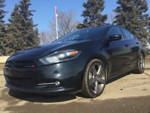 2013 Dodge Dart, SXT/RALLYE, TURBO, 6/SPD, LOADED, 136KM