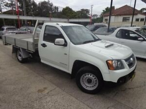 2011 Holden Colorado RC MY11 LX (4x2) White 5 Speed Manual Cab Chassis Sylvania Sutherland Area Preview