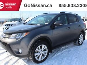 2014 Toyota RAV4 LIMITED, AWD LEATHER, SUNROOF, NAVIGATION, GREA