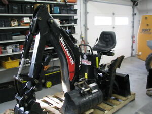 Skid Steer Back Hoe Attachement
