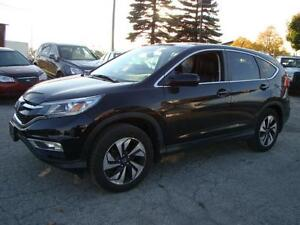2015 HONDA CR-V  TOP OF THE LINE * ONLY 24 K * NAVIGATION
