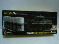 Italeri Acrylic Color Set - Wwii Military German Army -  - ebay.it