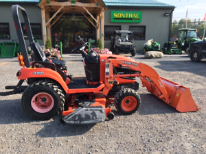 2011 KUBOTA BX2360 - SUB COMPACT TRACTOR WITH LOADER AND MOWER