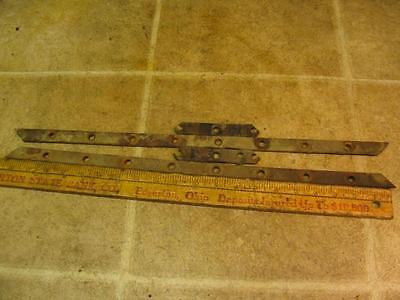 Minneapolis Moline M670 Gas Tractor Mm Radiator Bottom Tank Straps
