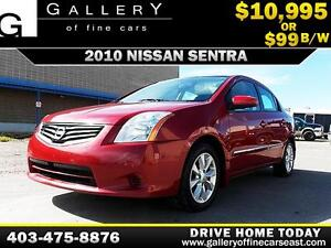 2010 Nissan Sentra 2.0 SL $99 BI-WEEKLY APPLY NOW DRIVE NOW