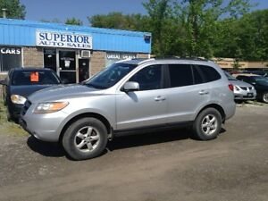 2008 Hyundai Santa Fe GLS Fully Certified! Leather, Sunroof!
