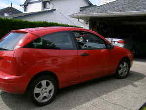 1996 Ford Focus ZX3 Coupe (2 door) tow hitch