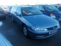 PEUGEOT 406 HDI ESTATE WITH HISTORY. LOVELY CONDITION