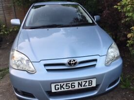 TOYOTA COROLLA 1.6 MANUAL, 1 LADY OWNER SINCE NEW, ONLY 23,000 MILES, EXCELLENT CONDITION, CLEAN MOT