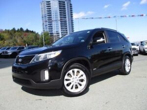 2015 Kia SORENTO EX V6 (AWD, HEATED FRONT & REAR LEATHER SEATS,
