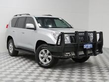 2012 Toyota Landcruiser Prado KDJ150R 11 Upgrade GXL (4x4) Silver 5 Speed Sequential Auto Wagon Morley Bayswater Area Preview