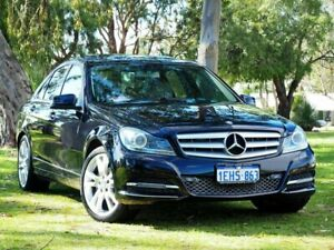 2013 Mercedes-Benz C250 W204 MY13 Avantgarde 7G-Tronic + Black 7 Speed Sports Automatic Sedan