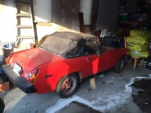 1975 MG Midget Convertible