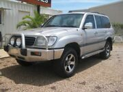 2001 Toyota Landcruiser FZJ105R GXL Silver 4 Speed Automatic Wagon Holtze Litchfield Area Preview