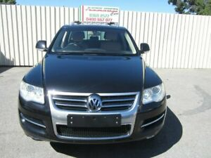2008 Volkswagen Touareg 7L MY07 Update V6 TDI Black 6 Speed Tiptronic Wagon Windsor Gardens Port Adelaide Area Preview
