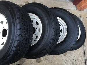 Toyota LandCruiser troopcarrier/troopy/ute sunraysia wheels/tyres Cardiff Lake Macquarie Area Preview