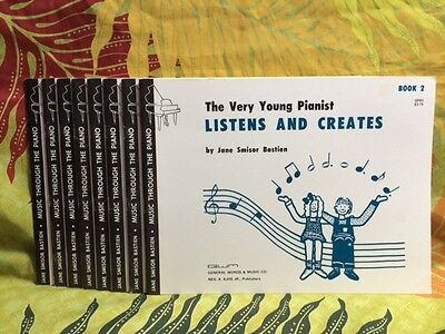 New The Very Young Pianist Listens and Creates Jane Smisor Bastien Book 2 1975