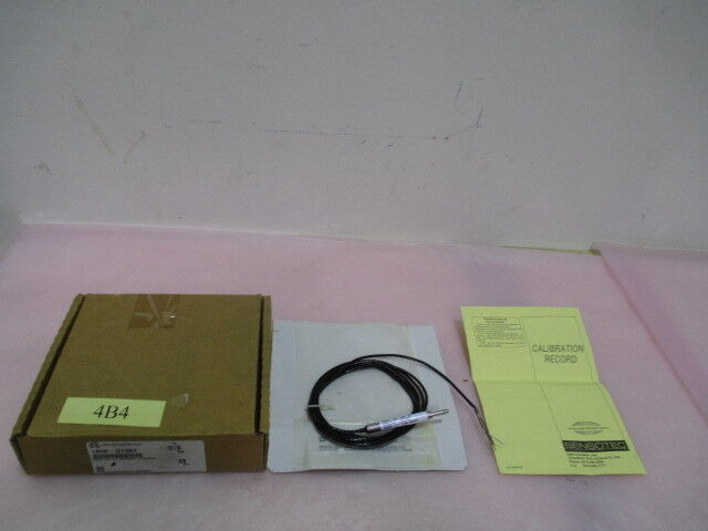 "AMAT 1400-01387, Honeywell, Sensotec, LVDT AC-AC GAUGING .2"" STROKE. 416819"