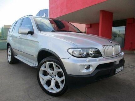 2004 BMW X5 4.4I SPORT Silver Automatic Wagon Laverton Wyndham Area Preview
