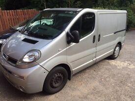 Vauxhall Vivaro Van For Urgent Sale