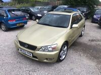 LEXUS IS200 SE AUTO 1988cc 4 DOOR SALOON**ONE PREVIOUS OWNER**PART SERVICE HISTORY**P/X TO CLEAR**