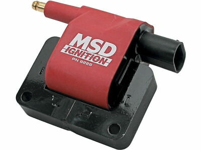 For 1991-1993 Dodge Shadow Ignition Coil MSD 47627MV 1992