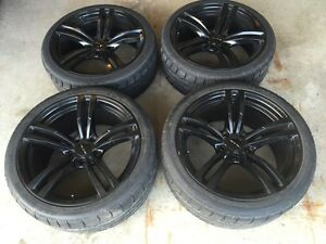 """High Performance Tires (245/35 & 265/35) and 19""""  Rims"""