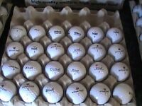 20 WILSONS GOLF BALLS WITH MARKS 18P EACH