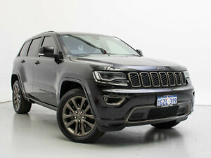 2016 Jeep Grand Cherokee WK MY16 75th Anniversary (4x4) Black 8 Speed Automatic Wagon Jandakot Cockburn Area Preview